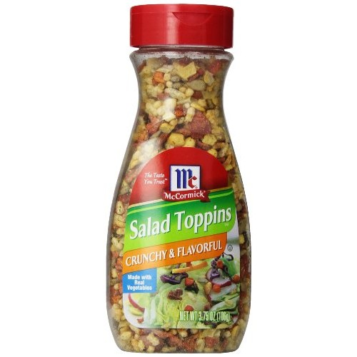 McCormick, Salad Toppins, Crunchy & Flavorful, 3.75oz Bottle Pa...