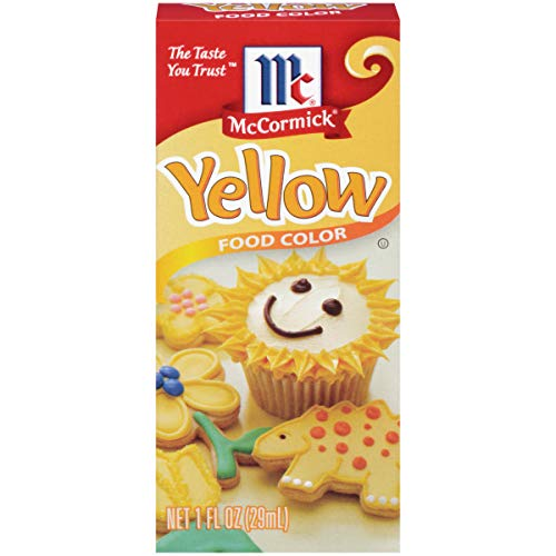 McCormick Yellow Food Color, 1 Fl Oz Pack of 1