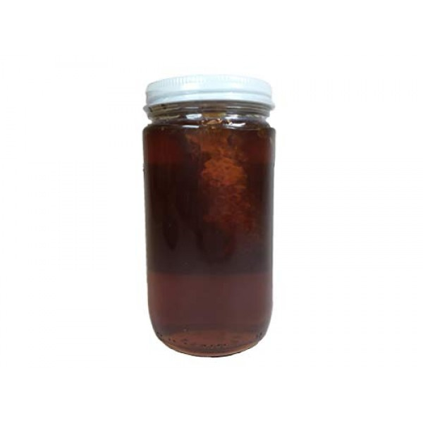 Raw Honey with Honey Comb - Pure All Natural Unfiltered & Unpast...