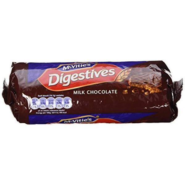 McVities Milk Chocolate Digestives 10.5 ozPack of 3