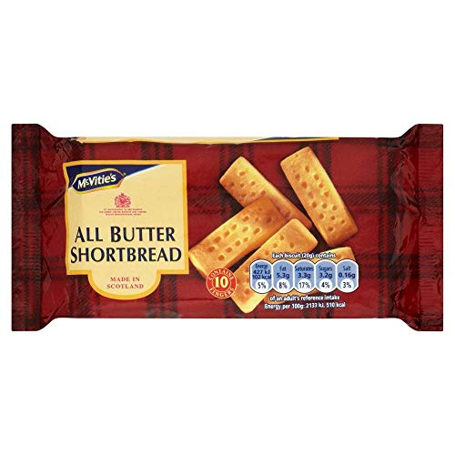 McVities All Butter Shortbread 200g(Pack of 4)