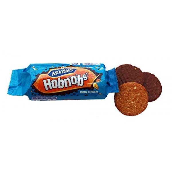 McVities Hob Nob Milk Chocolate 262g 3 pack