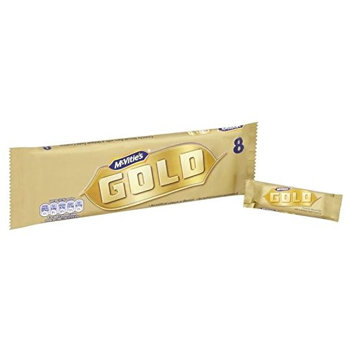 McVities Gold Bars 8 x 22g - Pack of 2