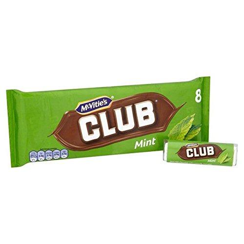 McVities Club Mint - 8 x 22.5g