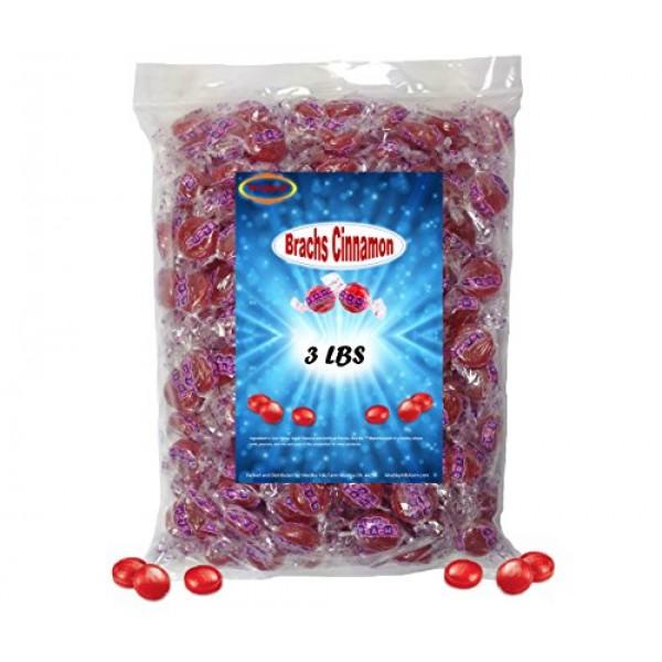 Medley Hills Farm Brachs Cinnamon Hard Candy 3 lb