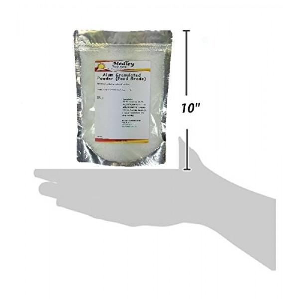 Medley Hills Farm Alum Granulated Powder Food Grade 3.5 lbs.