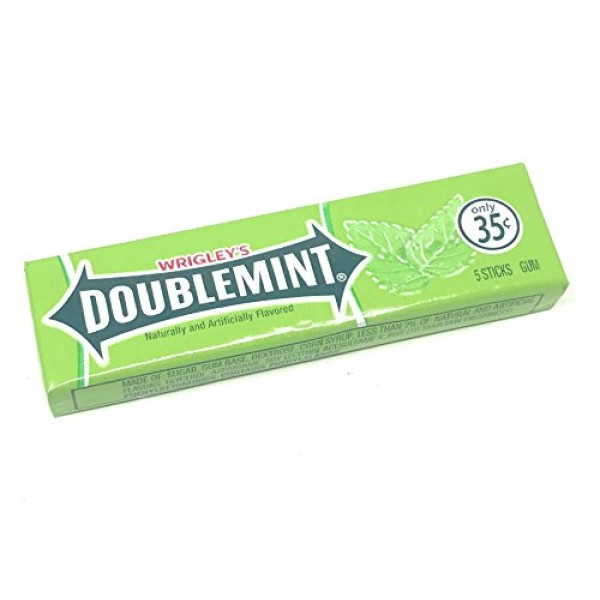 Wrigleys Chewing Gum Assortment 25 Packs