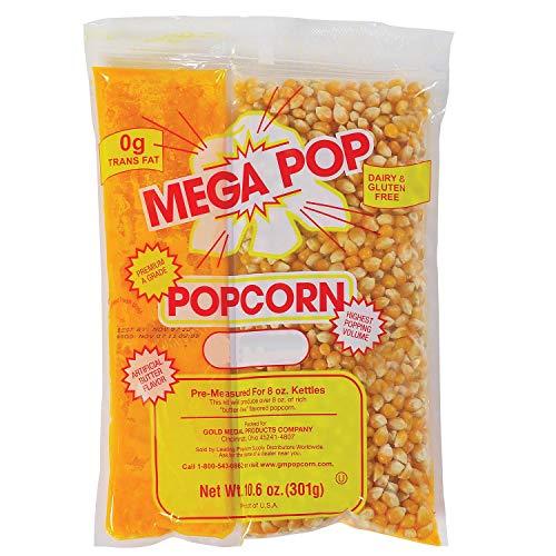 Gold Medal Mega Pop Popcorn Kit 8 oz. kit, 24 ct.. - Popcorn ...