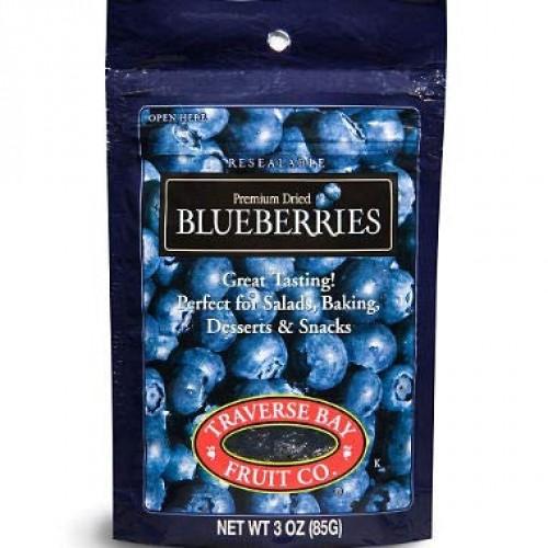 Traverse Bay Dried Blueberries, 3oz 12pk