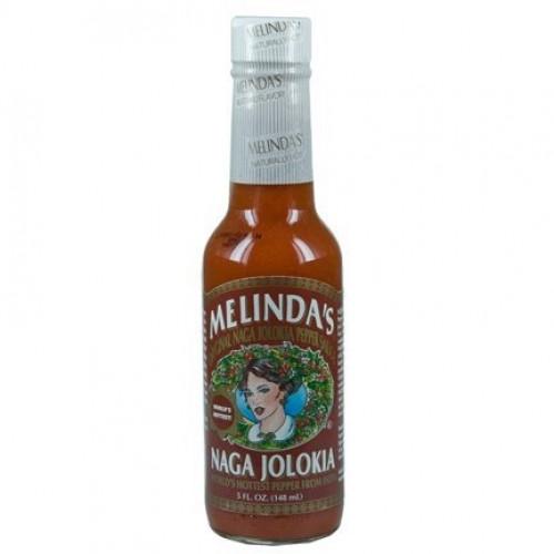 MELINDAS Naga Jolokia Pepper Sauce 5 oz