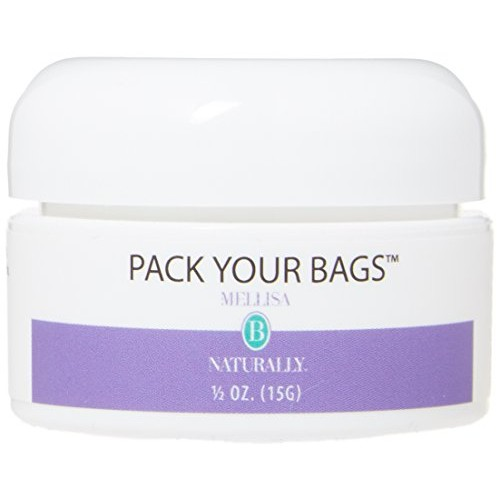 MELLISA B NATURALLY Pack Your Bags Eye Cream, 0.02 Pound