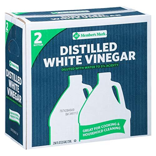 Daily Chef Distilled White Vinegar 2/1 gallon jugs 4 PACK