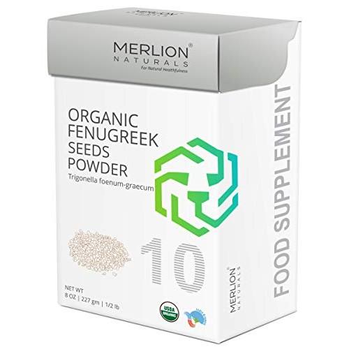 Organic Fenugreek Seed Powder by Merlion Naturals   Trigonella f...