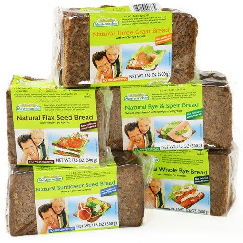 Mestemacher Organic German Bread - Sunflower Seed 17.6 ounce