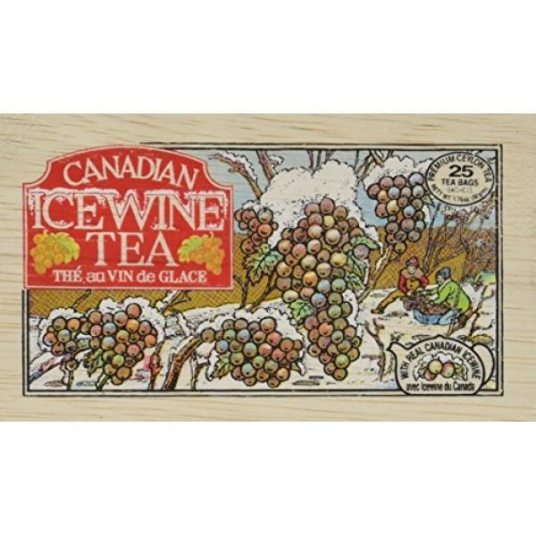 Metropolitan Canadian Ice Wine Tea In Decorative Wooden Box 25ct