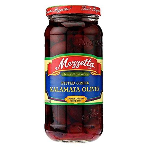 Mezzetta Pitted Calamata Olive, 9.5 Ounce Each - 6 Per Case.