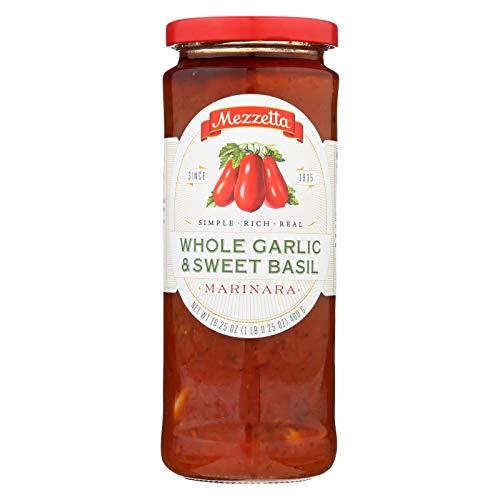 Mezzetta Marinara Whole Garlic and Sweet Basil - Case of 6 - 16....