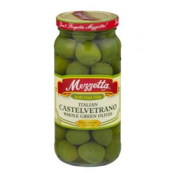 PACK OF 10 - Mezzetta Italian Castelvetrano Whole Green Olives, ...