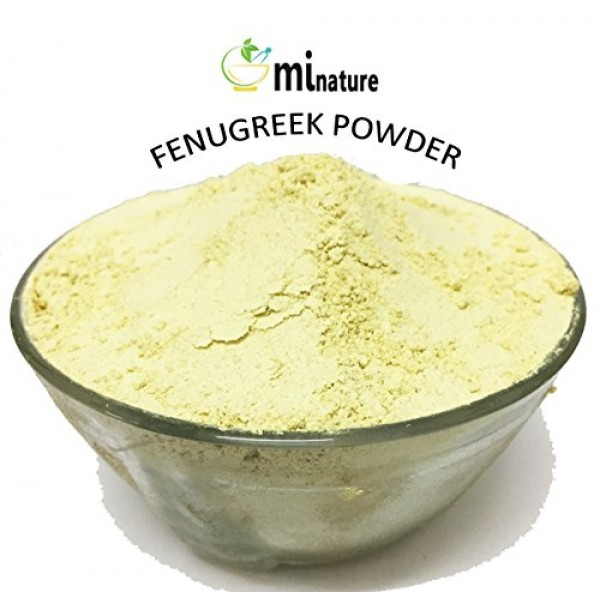 mi nature USDA CERTIFIED Organic Fenugreek Powder TRIGONELLA FO...