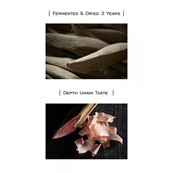 Premium 3 Year Fermented Katsuobushi Japanese Dashi Kaiseki Rame...