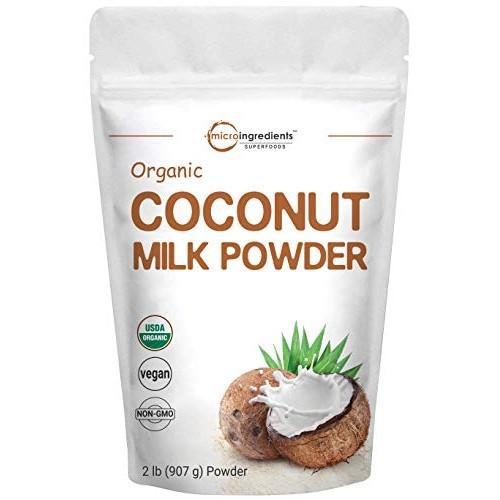 Micro Ingredients Organic Coconut Milk Powder, 2 Pound 32 Ounce...