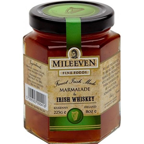 Mileeven Irish Whiskey Marmalade 225g 7.9oz