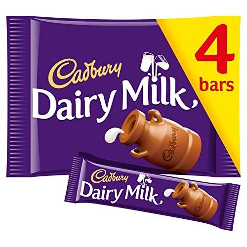 Cadbury Dairy Milk Chocolate Candy Bar Pack Imported From The UK...