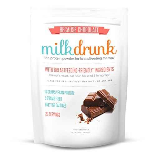 Milk Drunk - Chocolate Dairy Free Protein Powder for Breastfeedi...