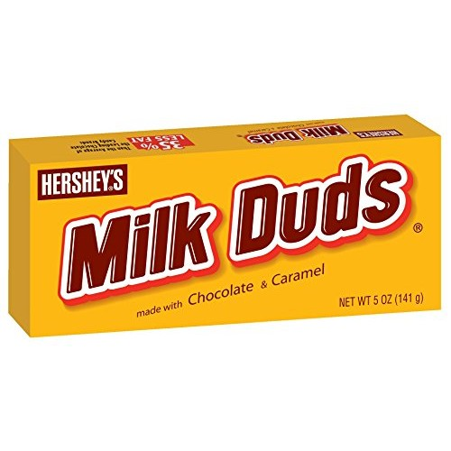 Milk Duds Candy, 5-Ounce Boxes Pack of 6