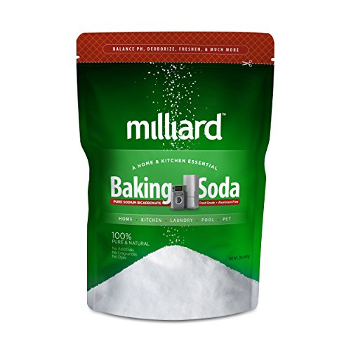Milliard 2lbs Baking Soda / Sodium Bicarbonate USP - 2 Pound Bul...