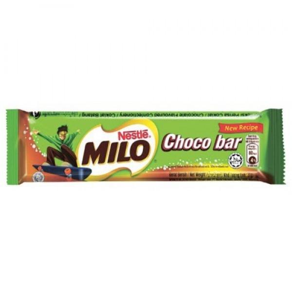 Milo Choco Bar 31g. Pack of 6