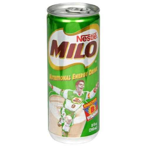 Milo Milo Nutrional Engery, Ready to Drink, 8-Ounce Pack of 24