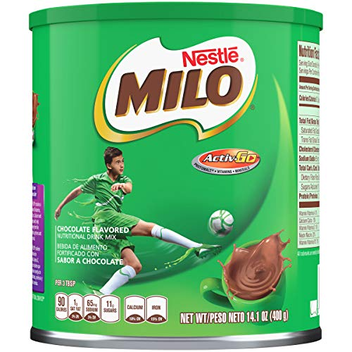 Nestle Milo, Chocolate Flavored, 14.1 Ounce Unit Pack Of 12