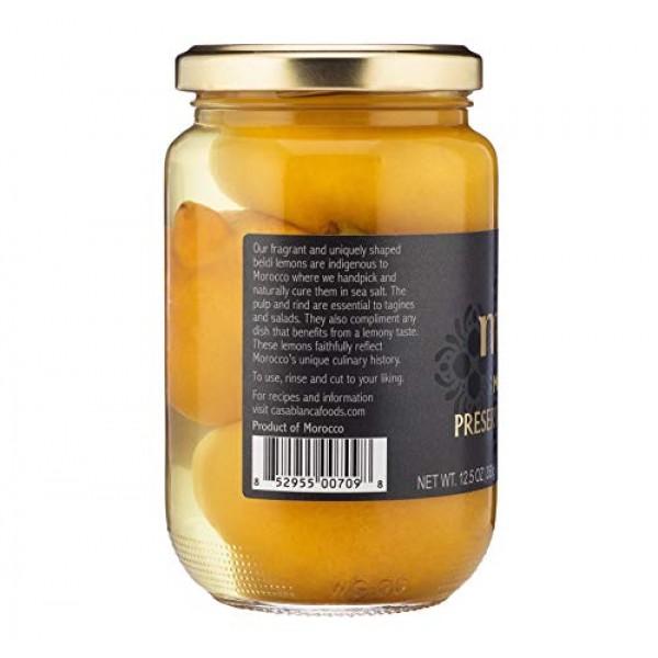 Mina Preserved Lemons, Authentic Moroccan Preserved Beldi Lemons...