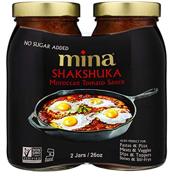 Mina Shakshuka Tomato Sauce, Savory Marinara Sauce Crafted with ...