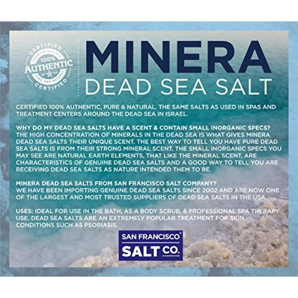 Minera Dead Sea Salt - 19 lbs. Coarse Bulk Bag