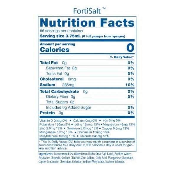 Andersons NEW FortiSalt Seasoning Gourmet Salt Substitute, Awar...