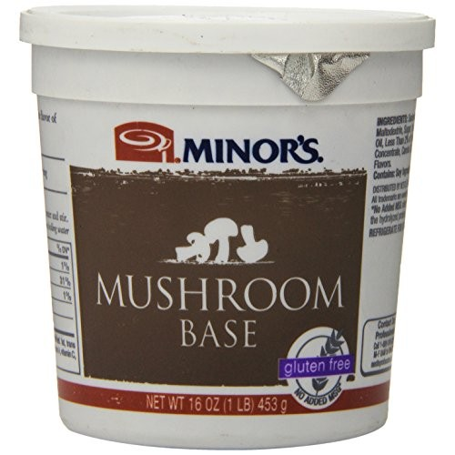 Minors Mushroom Base, Gluten Free, 16 Ounce