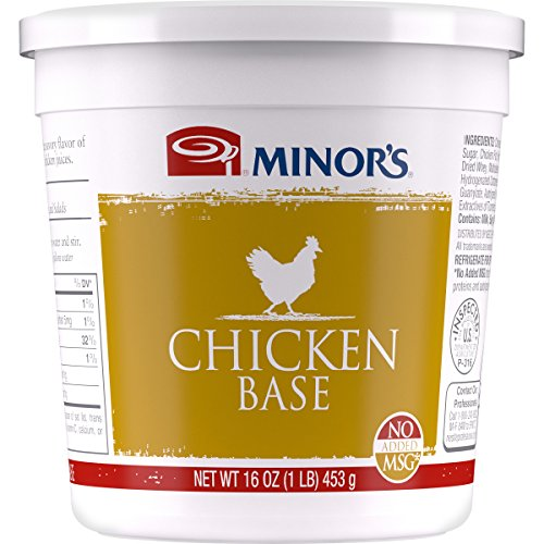Minors Chicken Base, Instant Chicken Stock, Bouillon, No Added ...