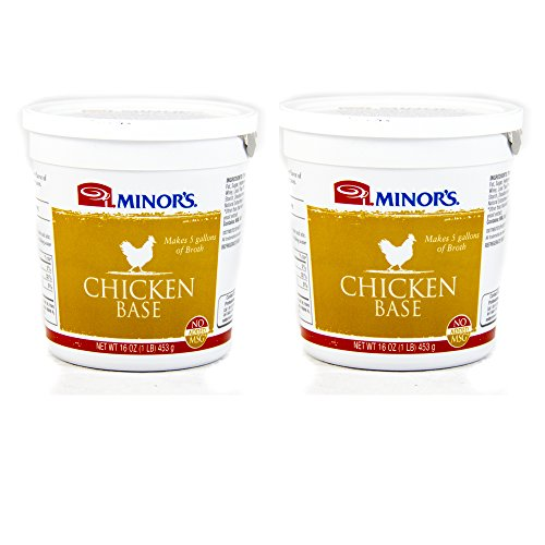 Minors Original Formula Chicken Base - 16 Oz. Pack of 2