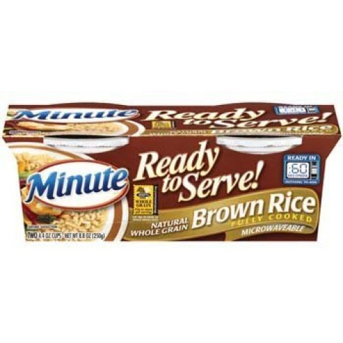 Minute Ready to Serve Natural Whole Grain Brown Rice 2 - 4.4 Oz ...