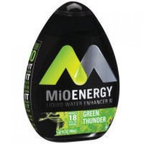 Mio Thunder Green Liquid Water Enhancer, 1.62 Fluid Ounce - 12 p...
