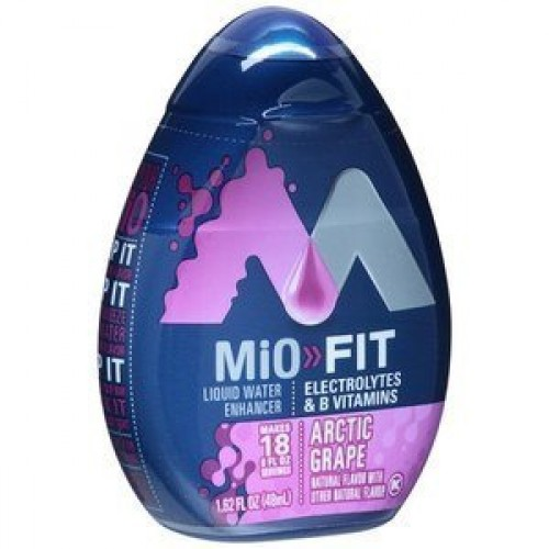MiO Fit Arctic Grape, 1.62 FLOZ PACK OF 6 BOTTLES by Mio