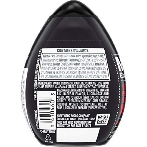 MiO Energy Black Cherry Liquid Water Enhancer, Caffeinated, 1.62...