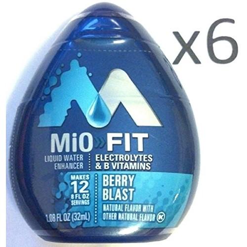 MiO FIT Healthy Water Enhancer Berry Blast Liquid Drops Caffeine...