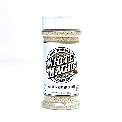 Gourmet All-Purpose Seasoning 5 oz. Original White Magic Dry R...