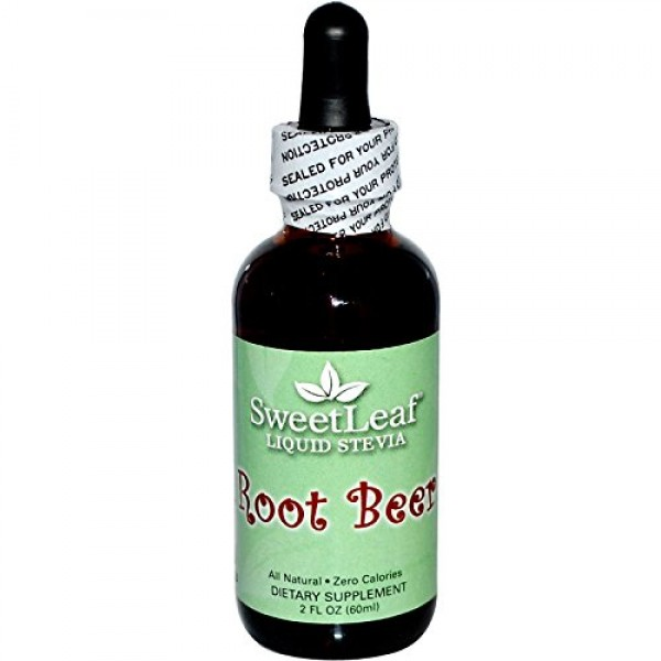 Wisdom Natural, SweetLeaf, Liquid Stevia, Root Beer, 2 fl oz 60...