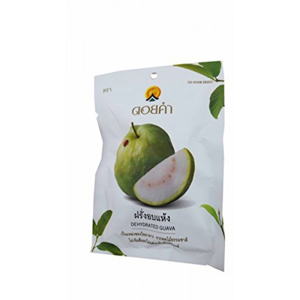 3 Packs of Dehydrated Guava, Made From Real Guava, Delicious Sna...