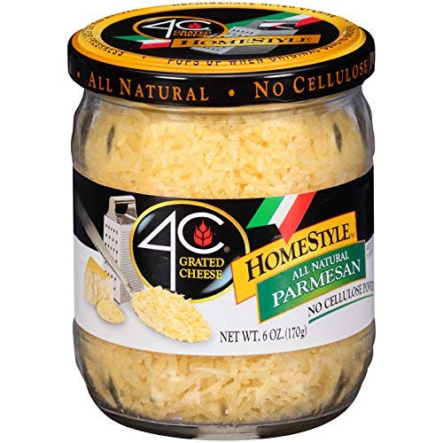 4C HomeStyle Parmesan Grated Cheese 6 oz. (Pack of 3)