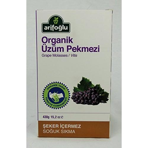 Arifoglu Organic and Pure Molasses Series Grape Molasses 15.2 O...